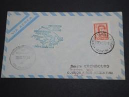 ARGENTINE - Enveloppe Et Oblitération Du Service Aérien Iles Falkland 1972 - A Voir - L  4044 - Cartas