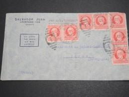 CUBA - Enveloppe Pour La France En 1939  Par Avion - A Voir - L  4047 - Cuba