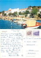 Hotel Jadran, Njivice Na Krk, Croatia Postcard Posted 1987 Stamp - Kroatien