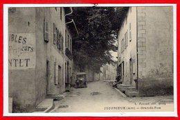 01 - JUJURIEUX --  Grande Rue - France