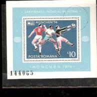 ROMANIA  MUNIC 74 OLIMPIC GAMES FOOTBALL - Calcio
