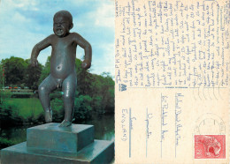 Angry Baby, Oslo, Norway Postcard Posted 1972 Stamp - Norvegia