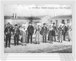 BAISSE DE PRIX &amp Sect &amp Sect  OLERON DOLUS CAVALCADE 1910 NOCE VILLAGEOISE REPRODUCTION - Noces