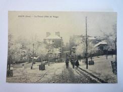 AUCH  (Gers)  :  Le  FOIRAIL  (Effet De  NEIGE)   1907   - Auch