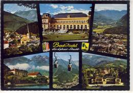 BAD ISCHL - Lehar-Stadt,  Mehrbildkarte M. Katrin Seilbahn, Lehar Villa, Kaiser Villa .... - Bad Ischl