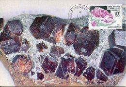 13853 T.a.a.f.  Maximum 1993  Mineral,  Grenat Almandin - Minerals