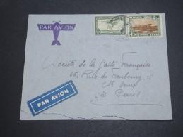 CONGO BELGE - Enveloppe Pour La France En 1939 , Affranchissement Plaisant - A Voir - L  4064
