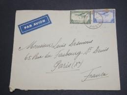 CONGO BELGE - Enveloppe Pour La France En 1939 , Affranchissement Plaisant - A Voir - L  4065