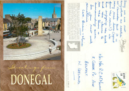 Donegal Town, Donegal, Ireland Postcard Posted 1995 Stamp - Donegal