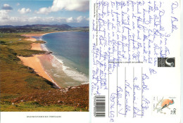 Ballymastocker Bay, Portsalon, Donegal, Ireland Postcard Posted 2002 Stamp - Donegal