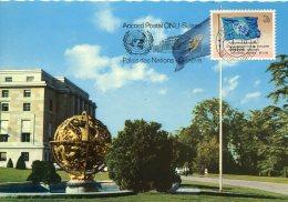 13865 Switzerland /united Nations  Maximum  1969  Stamp 0,10c.  United Nations  Flag  Flagge Drapeau