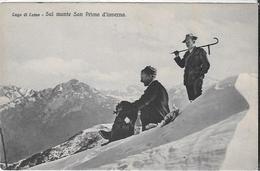 Lombardia In Fotografia Como Monte S. Primo - Como