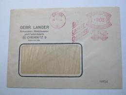 1944, CHEMNITZ     ,  Firmen Freistempel Auf Beleg - Deutschland