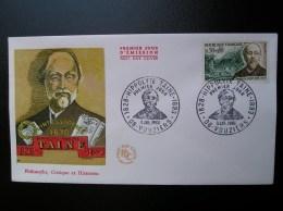 1475  Hippolyte Taine  1966  VOUZIERS - FDC