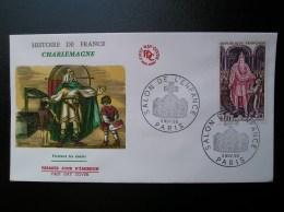 1497  Charlemagne  1966  PARIS - FDC