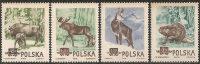 Polonia 1954 Nuovo** - Yv.785/88   Mi.885/88 - Nuovi