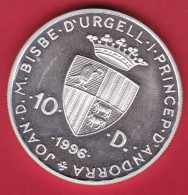 Andorre - Médaille Argent 1996 - Andorre