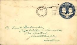 ETATS UNIS - Entier Postal Pour Constantinople En 1920 - A Voir - L  4105