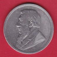 Afrique Du Sud - 2 Schillings Argent 1895 - South Africa