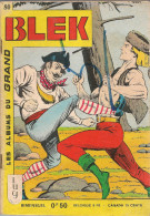 Blek N° 80 - Editions Lug à Lyon - Octobre 1966 - Avec Aussi Lobo Kid - BE - Blek