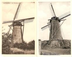 Oud - Turnhout : Molens ---- 2 Kaarten - Oud-Turnhout