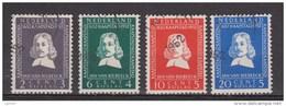 NVPH Nederland Netherlands Pays Bas 578 579 580 581 Used;  Van Riebeeck Zegels 1952 ALSO PER PIECE - 1949-1980 (Juliana)