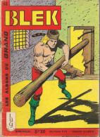 Blek N° 61 - Editions Lug à Lyon - Janvier 1966 - Avec Aussi Lobo Kid - BE - Blek
