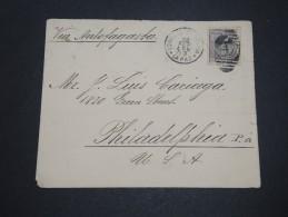 VENEZUELA - Enveloppe De La Paz Pour Philadelphie En 1903 , Affranchissement Plaisant - A Voir - L  4110 - Venezuela