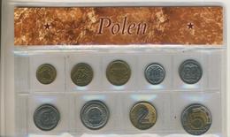 Polen Kurssatz Von 1 Grosz Bis 5 Zlotych (105K-1)) - Litauen