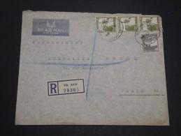 PALESTINE - Enveloppe En Recommandé De Tel Aviv Pour La France En 1946 - A Voir - L  4115 - Palestine