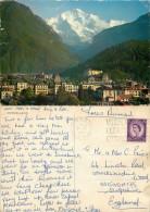 Interlaken, BE Bern, Switzerland Postcard Posted 1964 FIELD POST OFFICE FPO GB Stamp - BE Berne