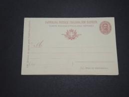 ITALIE - Entier Postal Non Voyagé - A Voir - L  4126 - 1878-00 Umberto I