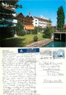 Hotel Pliatus, Hergiswil Am See, NW Nidwalden, Switzerland Postcard Posted 2000 Stamp - NW Nidwald