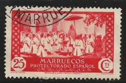 Marruecos – España – Spain – Años 1933-1935 Edifil 139 Us. - Maroc Espagnol