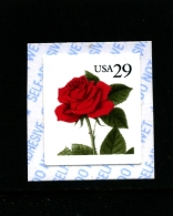 UNITED STATES/USA - 1993  29c  ROSE  SELF ADHESIVE  MINT NH - Stati Uniti