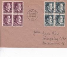 ALLEMAGNE  GENERAL GOUVERNEMENT  1942 LETTRE DE CRACOVIE - Occupation 1938-45
