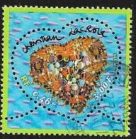 N°  3368 -   OBLITERE -  ST VALENTIN COEUR C. LACROIX  -  2001 - France