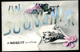 Cpa Du 94  Un Souvenir De Nogent Sur Marne       JIP17 - Nogent Sur Marne