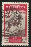 Marruecos – España – Spain – Año 1951 Edifil 338 Us. - Maroc Espagnol