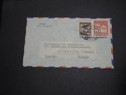 """CHILI - Enveloppe De Santiago Du Chili Pour Les Pays Bas En 1938 Par Avion """"Air France"""" - A Voir - L  4142 - Chile"""