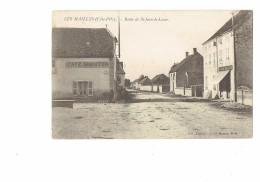 21 - Cote D´Or - Les MAILLYS - Café AMANTON Service Automobile - Route De Saint-Jean-de-Losne - BOUCHERIE CHARCUTERIE - Autres Communes
