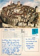 J B Guibert, Arles, Art Painting Postcard Posted 1987 Stamp - Malerei & Gemälde