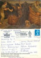 Edward Burne-Jones, Art Painting Postcard Posted 2014 Stamp - Schilderijen
