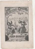 - Publicité Brasserie Des Capucins à AMIENS - 001 - Publicités