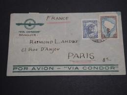 ARGENTINE - Enveloppe De Buenos Aires Pour La France Par Avion Par Condor En 1937 - A Voir - L  4145 - Argentinien