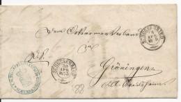 ALLEMAGNE - 1875 - LETTRE De SCHÜSSENRIED (BADEN WÜRTT.) - Deutschland