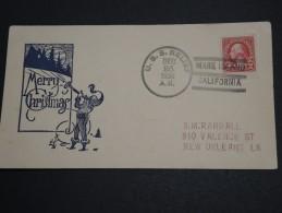 ETATS UNIS - Enveloppe DU Bateau U.S.S.Relief En 1936 En Escale à Mare Island - A Voir - L  4146 - Poststempel