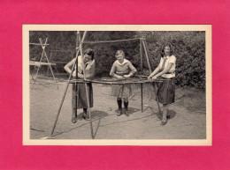 Construction D'un Vaisselier, Féd. Française Des Eclaireuses, (A. Plantier), Animée - Scoutisme