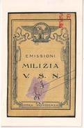 FAUX, Italia, Milizia Emisioni - Erinofilia