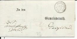 ALLEMAGNE - 1867 - LETTRE De PLOCHINGEN (BADEN WÜRTT.) - Deutschland